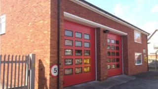 Pangbourne fire station