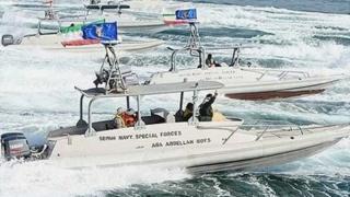 شناورهای سپاه در خلیج فارس