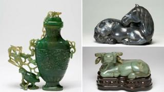 Artefacts stolen from the Fitzwilliam Museum