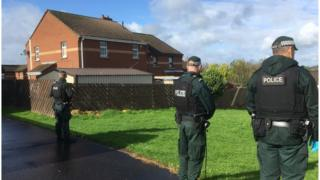 galliagh police searches