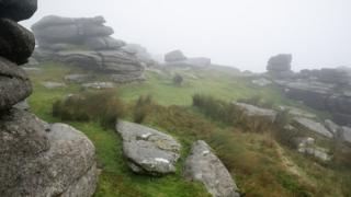 Дартмур в тумане