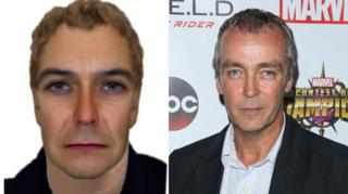 Burglary suspect/actor John Hannah