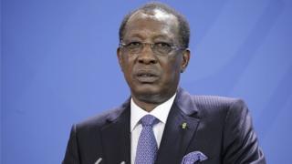 Le président tchadien Idriss Déby