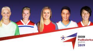 Pet kandidatkinja za titulu najbolje fudbalerke sveta