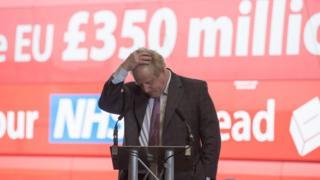 """Борис Джонсон во время кампании перед референдумом о """"брексите"""""""