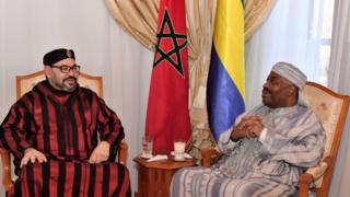 Maroc, Ali Bongo, Mohamed VI