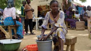UN say make Nigeria goment help and protect 10,000 pipo for Borno state