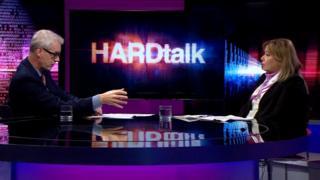 Prof. Dr. Gülnur Aybet, BBC'de yayınlanan HARDtalk