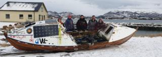 Duncan Hutchison's boat