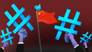 中国外交官登陆推特