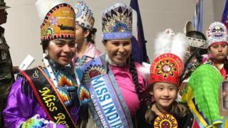 Miss Indian World Pageant contestants