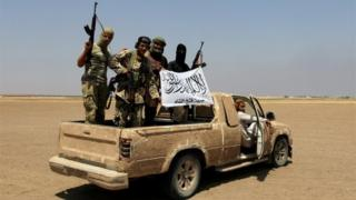 Fighters from Jabhat Fateh al-Sham (file photo)