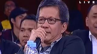 Pernyataan Rocky Gerung itu pertama muncul dalam acara televisi Indonesia Lawyers Club yang ditayangkan di stasiun televisi TVOne pada Selasa (10/04) malam.