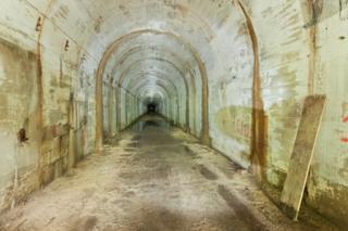 Tunnel in Rhydymwyn, Flintshire