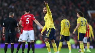 Manchester United ati Arsenal takangbọn