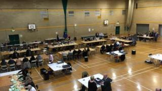 Tendring District Council count