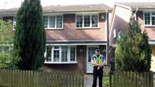 Property in Cardiff being searched by police