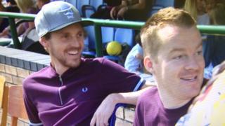 Shaun Whiter and Joey Abbs