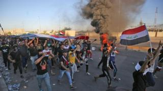 Ирак, демонстрация