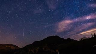 Geminid Meteor Arizona, US