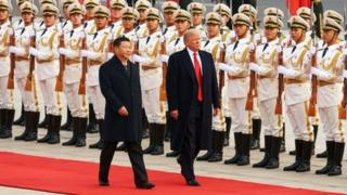 چین اور امریکہ کے صدور