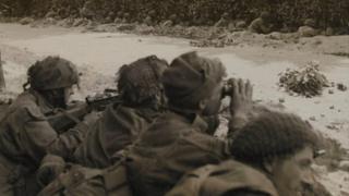 Soldiers of the 1st Battalion, Border Regiment, Oosterbeek 20 September 1944