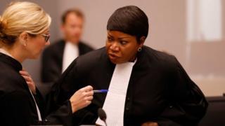 ကနဦး စိစစ်မှုတွေ အပြည့်အဝ လုပ်ဖို့ ဆုံးဖြတ်ကြောင်း ICC အမှုလိုက် အရာရှိ Fatou Bensouda (ယာ)ထုတ်ပြန်ပြောဆို