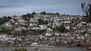 houses in Salcombe, Devon