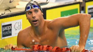 Grant Hackett is a former Olympic 1500m freestyle champion