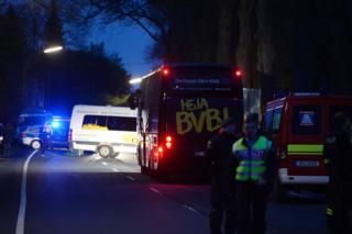 """Біля автобуса із гравцями """"Боруссії Дортмунд"""" прогримів вибух"""