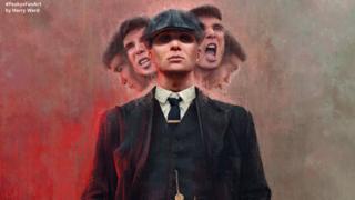 Peaky Blinders fan art by Harry Ward
