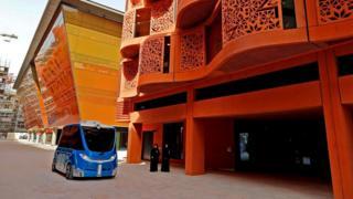 Масдар-сити в Абу-Даби поначалу не предусматривал использования автомобилей