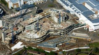 New Royal Hospital for Sick Children in Edinburgh