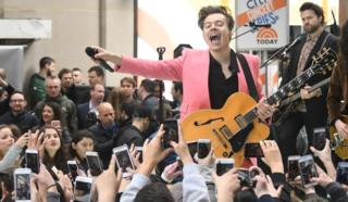 Harry Styles em show