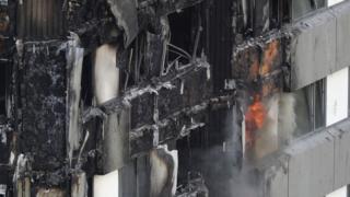 Последствия пожара в Лондоне
