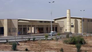 תצלום קובץ המציג מפעל העשרת דלק Natanz באיראן (2007)