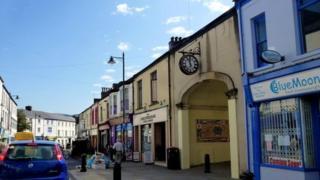 Canon Street in Aberdare