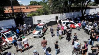 إطلاق نار البرازيل