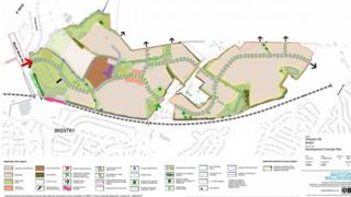 New homes for Fishpool Hill