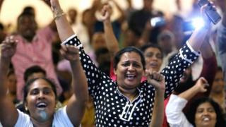 श्रीलंका में लोग