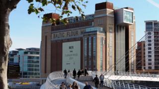 Gateshead's Baltic gallery