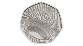 Stephen Hawking 50p coin
