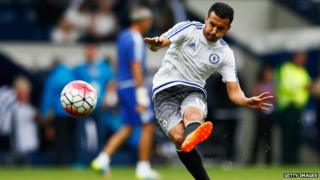 Chelsea's new signing, Pedro