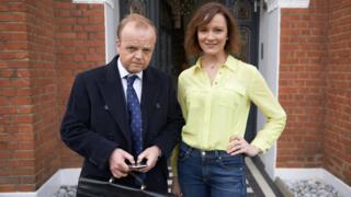 Toby Jones and Rachael Stirling