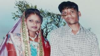 મૃતક મહેશ અને તેમનાં પત્ની કાજલ