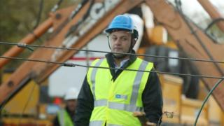 Leo Varadkar was speaking during a visit to areas damaged during storm Ophelia in County Kildare