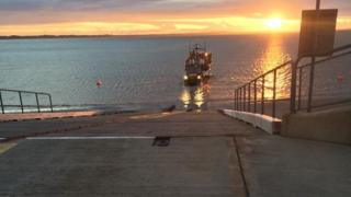 Newcastle RNLI launched a rescue operation early on Wednesday morning
