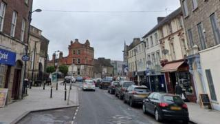 Upper English Street in Armagh City