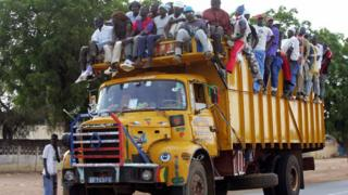Un camion en route vers Touba (illustration)