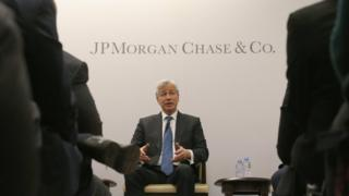 Jamie Dimon chief executive of JP Morgan Chase